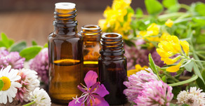 The healing therapy of massage and essential oils