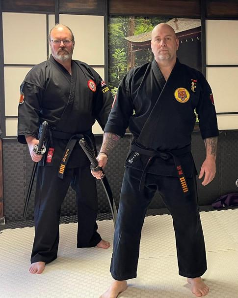 Shihan Ken Stronach & Sensei Jim Miller