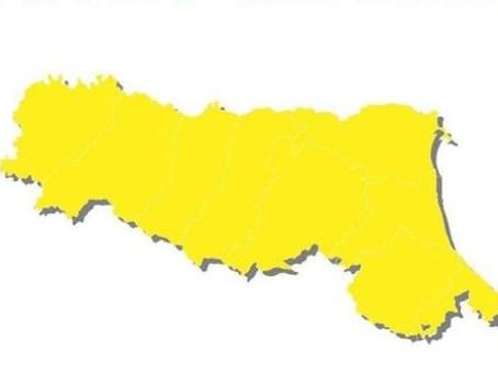 Emilia-Romagna torna zona gialla!