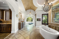 master bath view of exercise