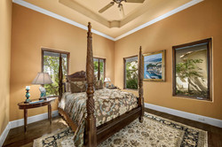 orange guest room