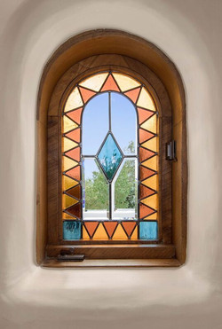 Custom Stained Glass Designed by Bill Tull