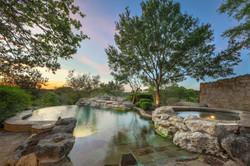 early twilight pool_spa