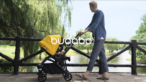 A familiar tone of voice for the iconic stroller brand