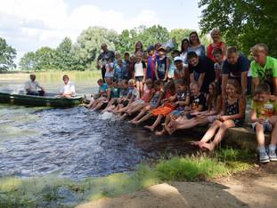 Bunter Start in Sachsen mit Naturfarben und der Suche nach Fledermäusen