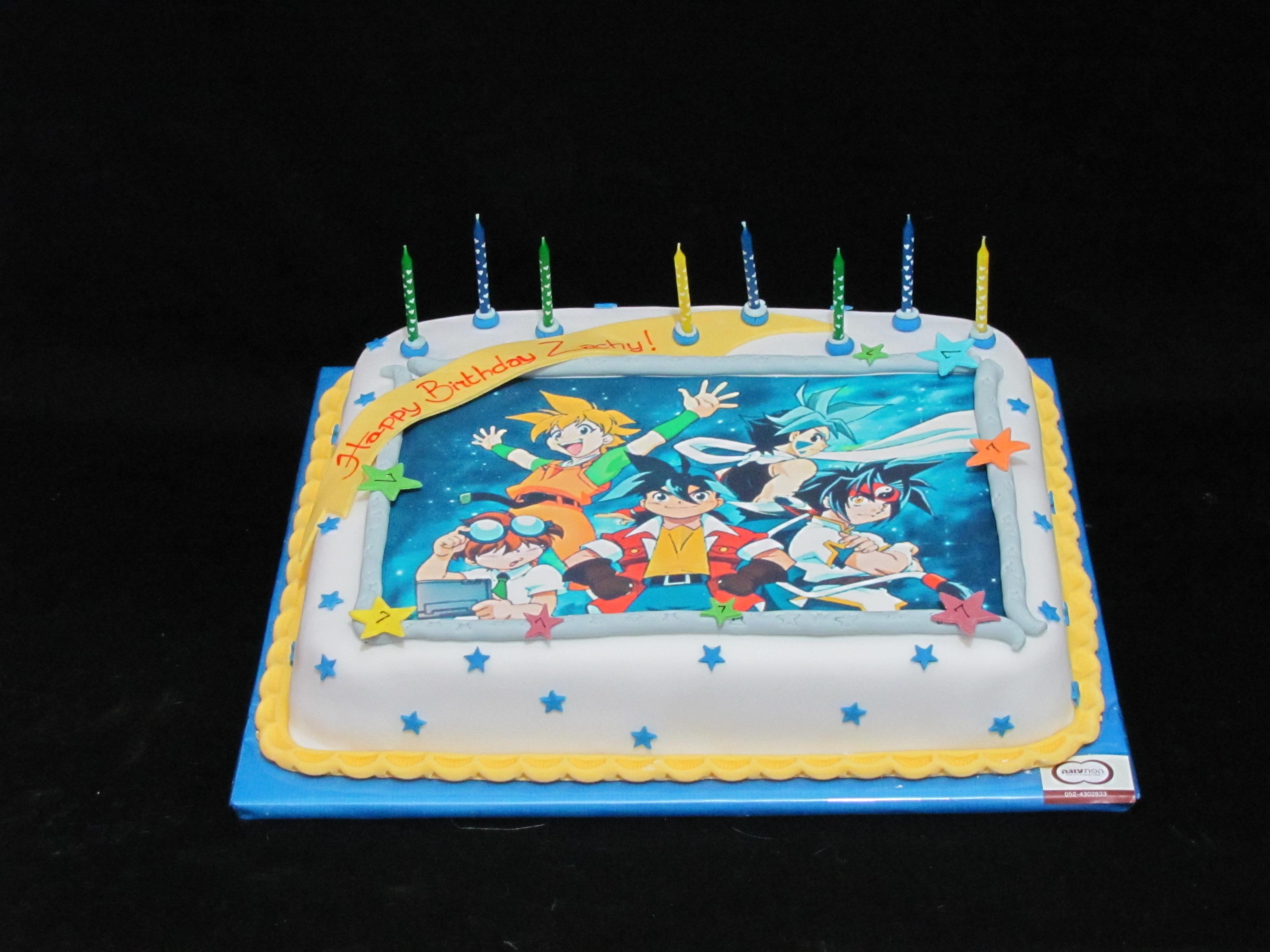 עוגה עם דף אכיל