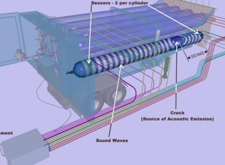 Composite Pressure Vessel Testing using Acoustic Emission Testing