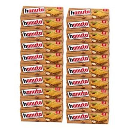Ferrero Hanuta 10 Haselnussschnitten 220 g, 20er Pack