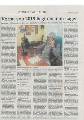 Oberbadische Zeitung 17. Juli 2021