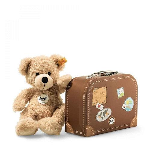 Steiff Teddybär Fynn mit Koffer