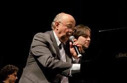 Com o maestro Roberto Sion