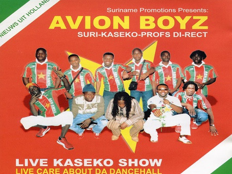 Avion Boyz releases 'Live Kaseko Show' album digitally!