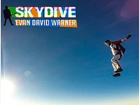 Evan David Warner is back with a new song: ''Skydive''