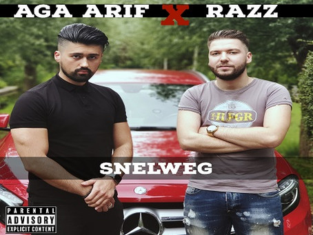 Razz & Aga Arif releasen Hip Hop single 'Snelweg'