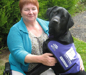 Paralympic swimmer tells us how her dog supports her