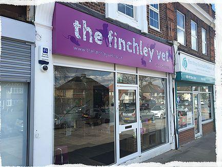 finchley vet exterior