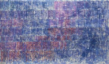 내적시선, 장지에 채색, 247 x 147cm