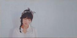 시선 116.8x58cm Oil on Canvas