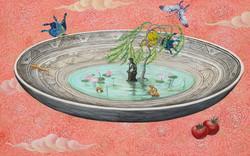 생각하는 반가사유상 54x34 2011