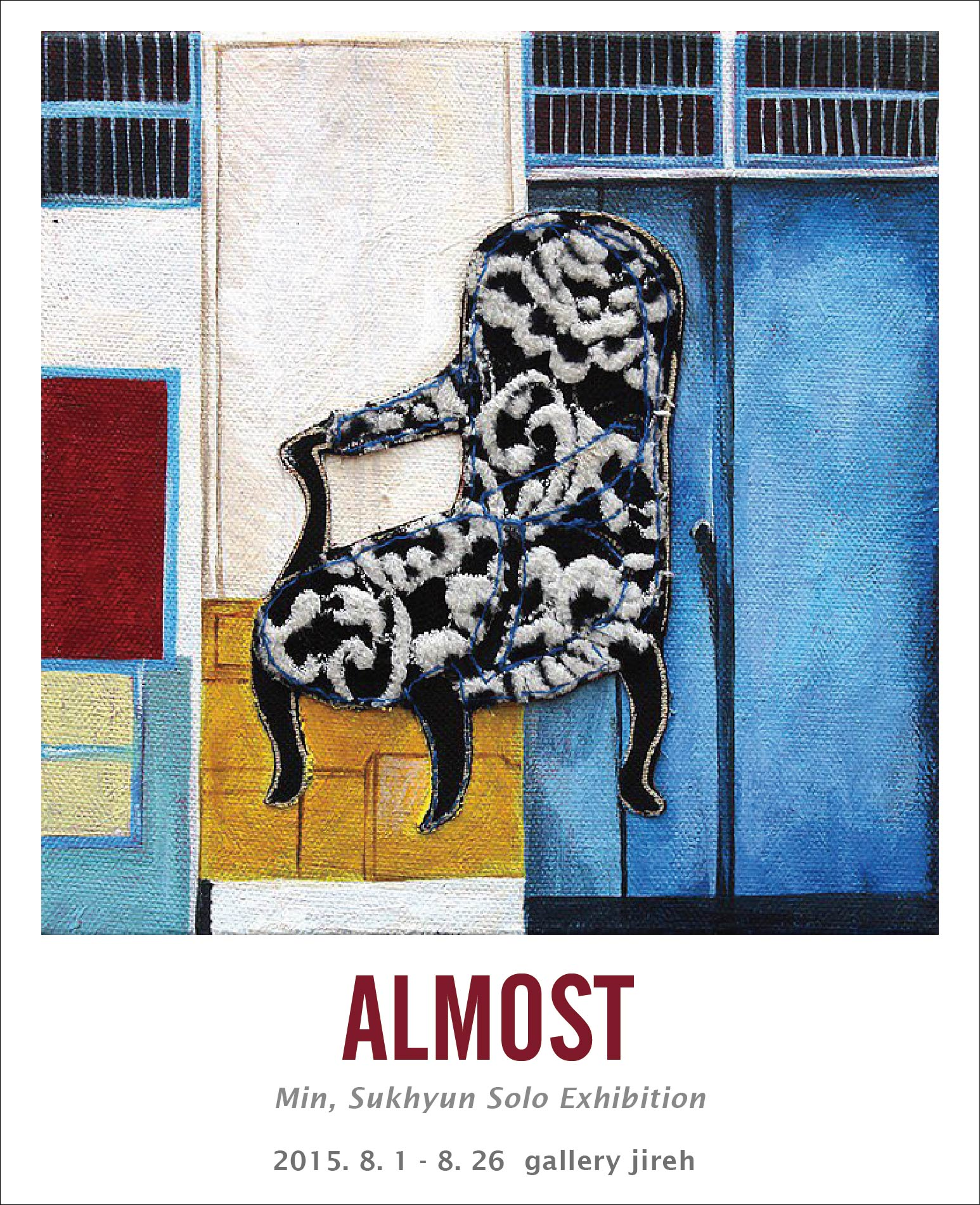 2015 ALMOST Min, sukhyun solo Exhibition