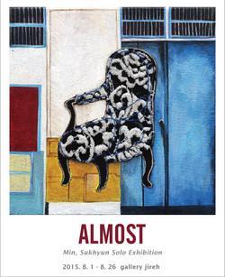2015 ALMOST Min, sukhyun solo Exhibition