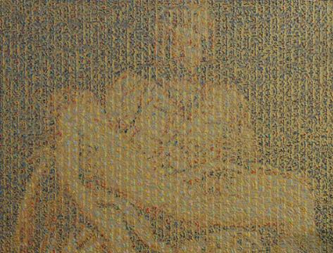 Research on Memory 117x91cm 캔버스 위에 오일,아크릴릭 2010