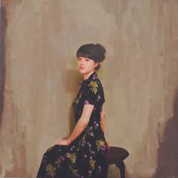 또 다른시선 117x117cm Oil on canvas