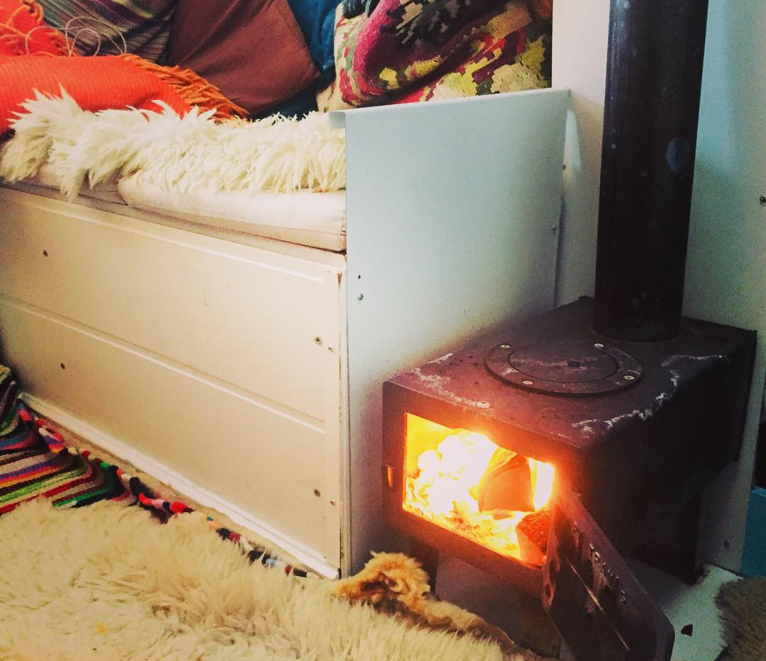 my cosy fireplace