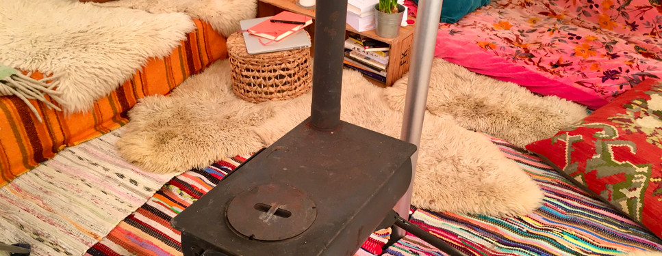 This little woodstove keeping me warm