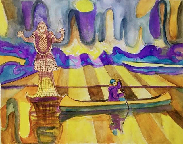 Canoeing with Gods