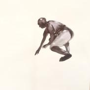 Inkdrawing on watercolorpaper 56 x76 cm