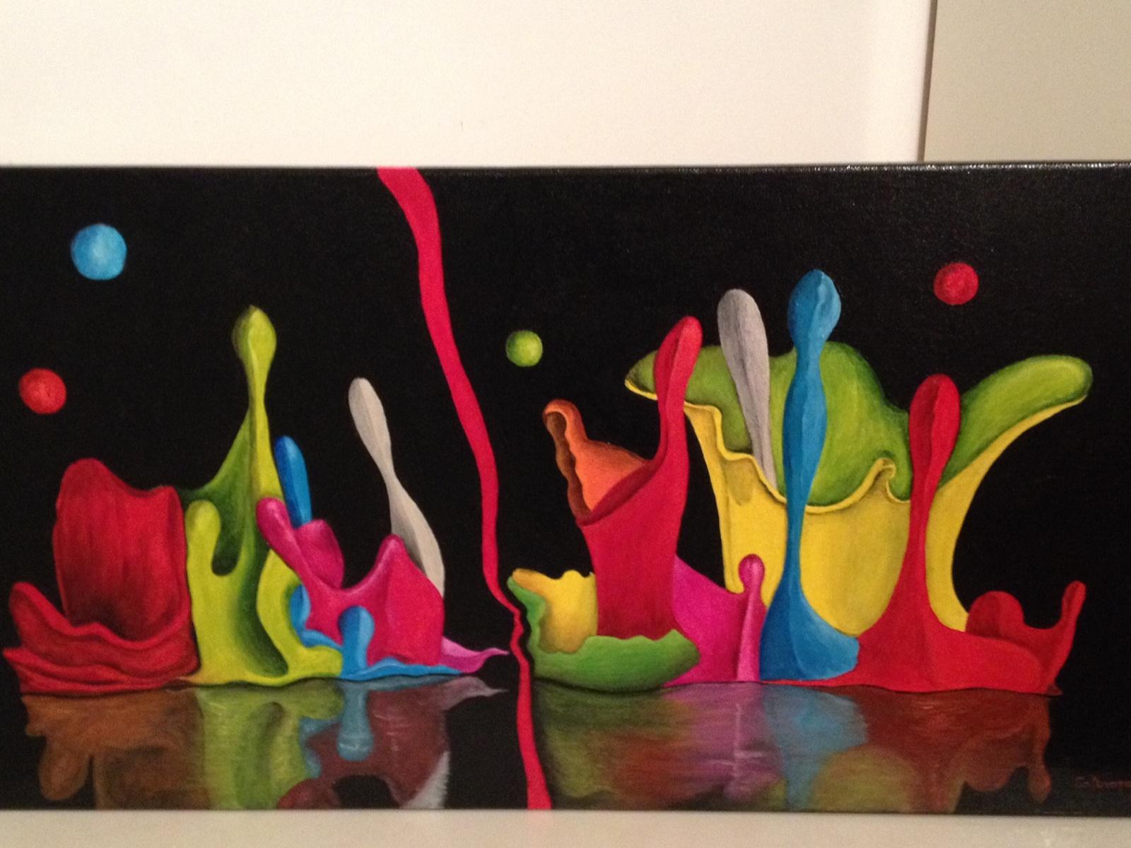 La danse des peinture 2ème version