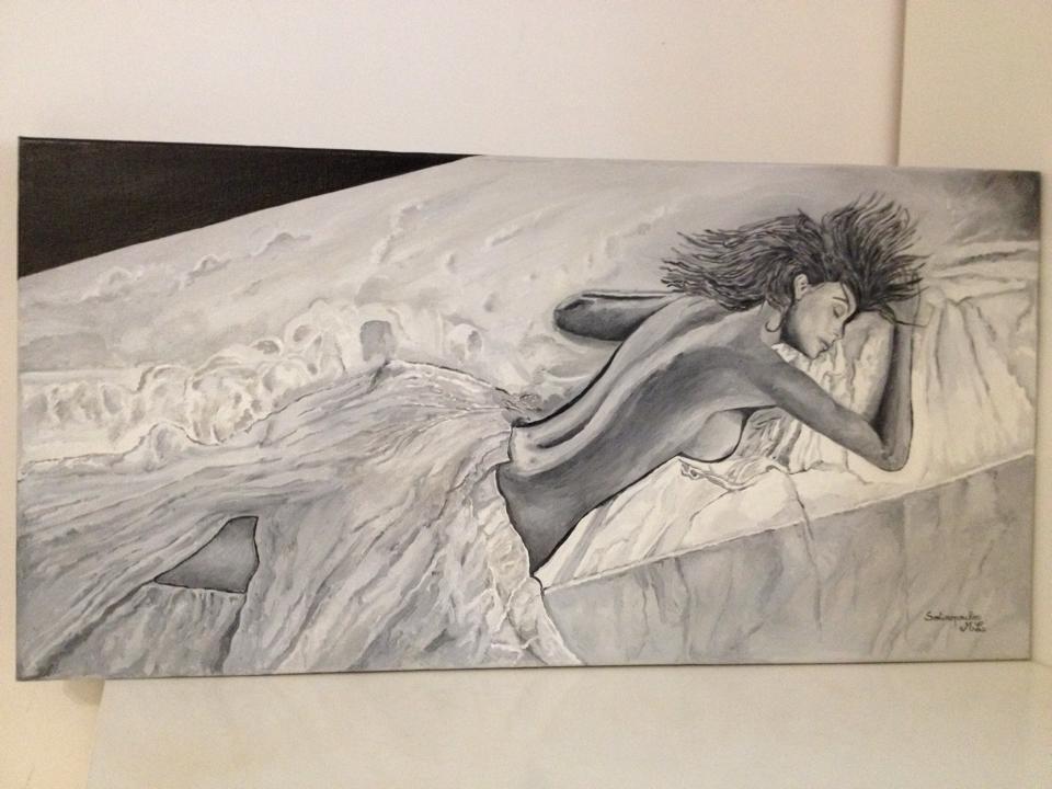 Femme dénudée
