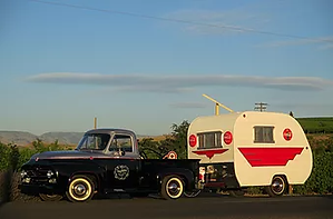 Lisa McDonald 1955 & 1956 Ford F100 Pick