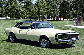 Daryl & Sharon Foster 1968 Chevrolet Cam
