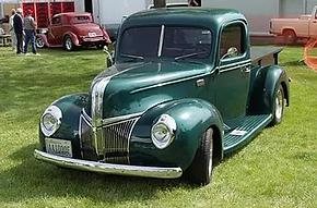 Neal & Joyce Larson 1941 Ford Pickup.web