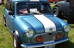 Buddy Eaves Mini Cooper.webp