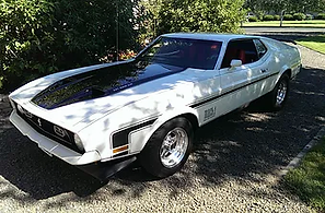 Chet & Corrie Hadley 1971 Ford Mustang M