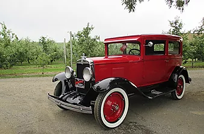 Lisa McDonald 1929 Chevrolet 2 door Coac