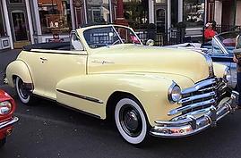 Brian & Melissa Caryle 1948 Pontiac Silv