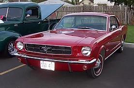 Tom & terri Piefer 1964 1.5 Ford Mustang