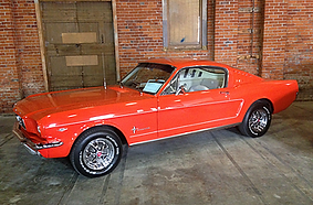 Mike Charlo 1965 Ford Mustang Fastback.w