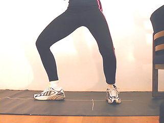 Fencing retreat end position| Elaine Cheris