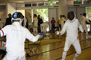 Fencing in Modern Pentathlon