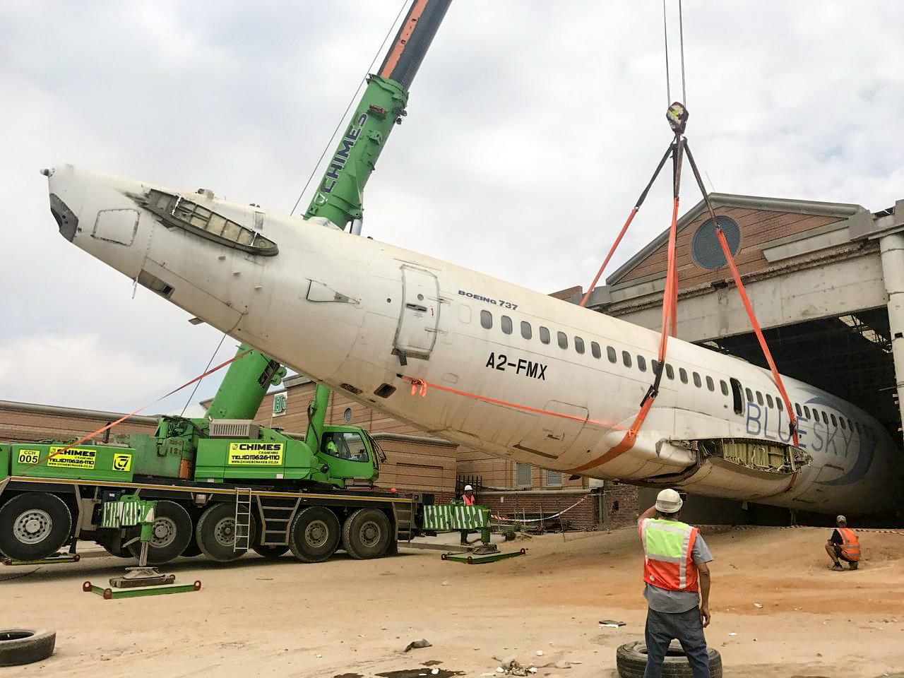 Aeroplane going in at KidZania JHB