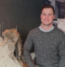 A photo of Iguana's senior quantity surveyor, Johan de Beer