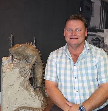 A photo of Iguana's director, Jacques Visser