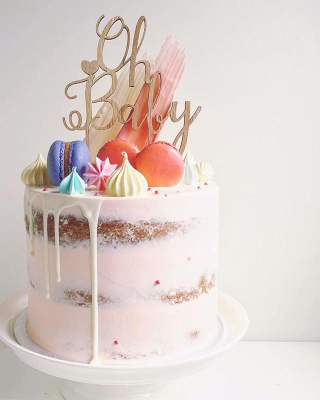 Baby shower cake, start 85euros