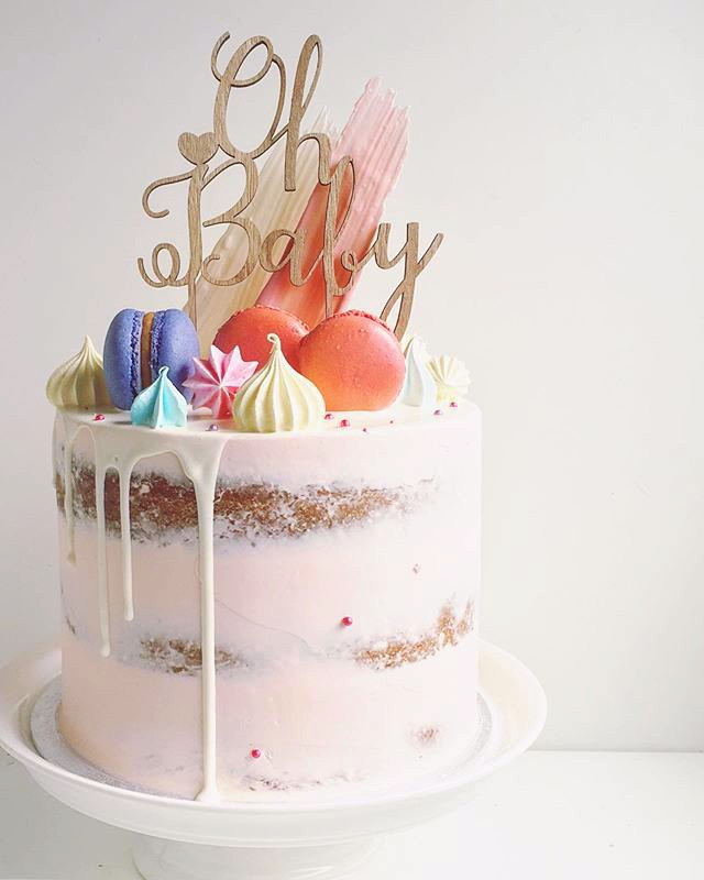 Baby shower cake, from 85euros