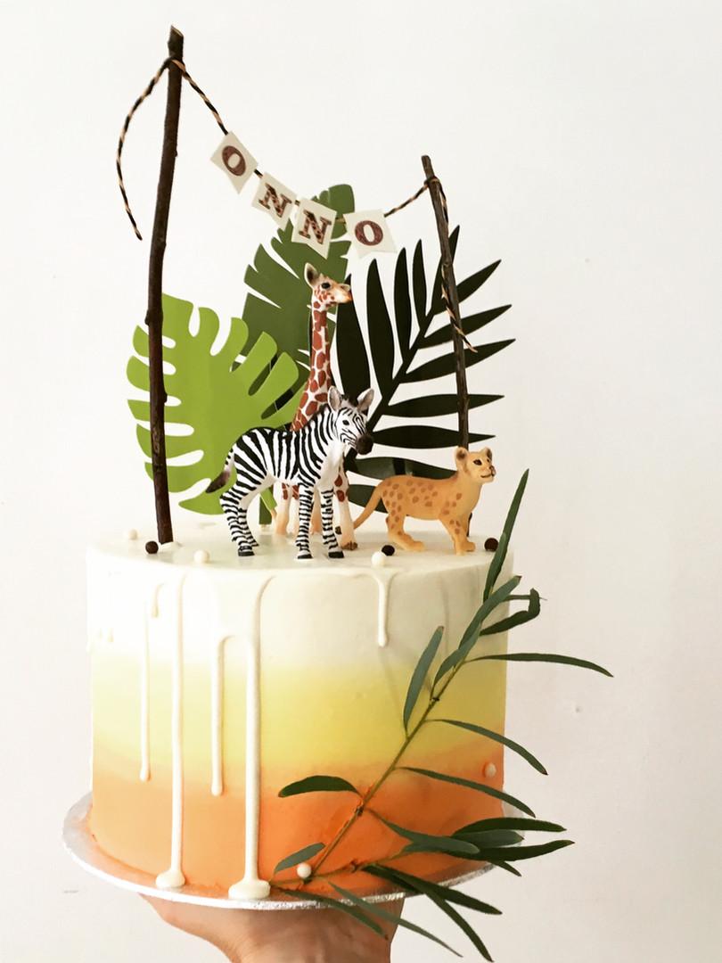 Safari cake, 75euros